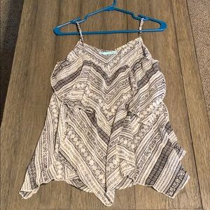 Maurices flowy tank